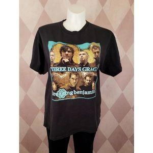 Shirts - Three Days Grace / Breaking Benjamin Concert Tee